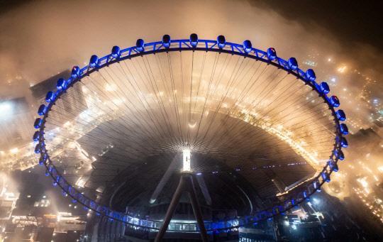 세계 최고높이 250m 대관람차 내달 개장…한 바퀴 도는데 38분